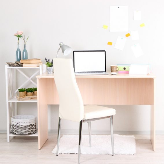workspace-at-home-with-laptop